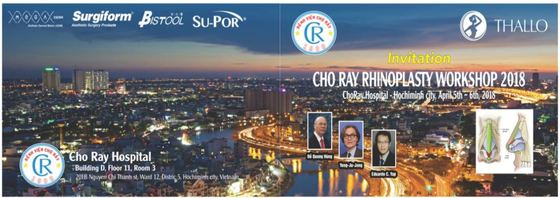 Cho ray rhinoplasty workshop 2018 ho chi minh vietnam 150 l