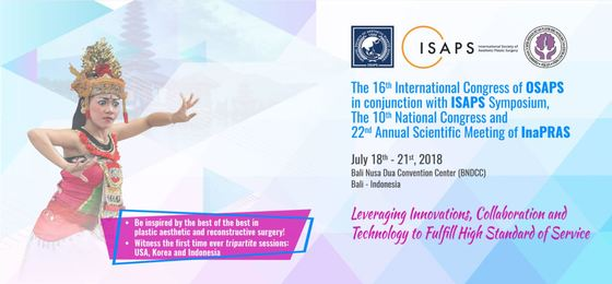 The 16th international congress of oriental society of aesthetic plastic surgery osaps bali indonesia l
