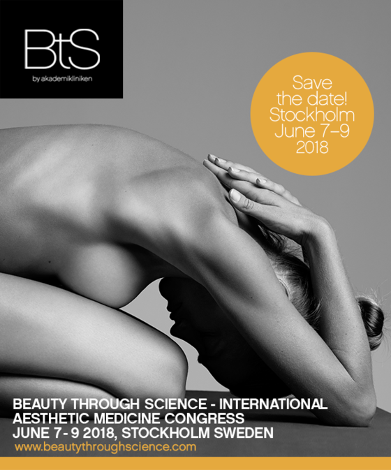 Beauty through science international aesthetic medicine congress stockholm sweden l