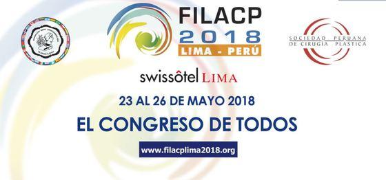 22nd ibero latin american federation of plastic surgery filacp biennial congress nil 2018 l