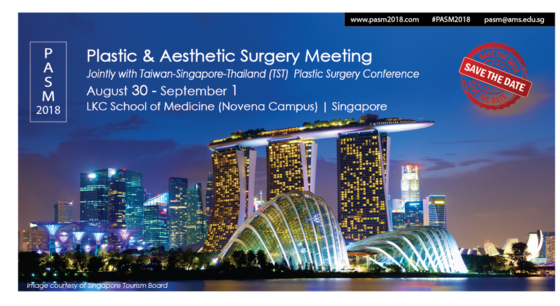 The 3rd singapore plastic aesthetic surgery meeting pasm 2018 singapore 175 l