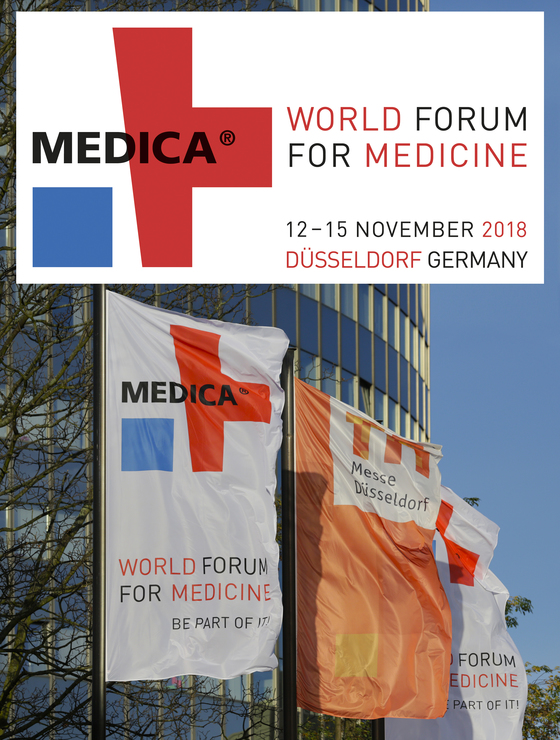 Medica 2018 world forum for medicine dusseldorf germany 180 l