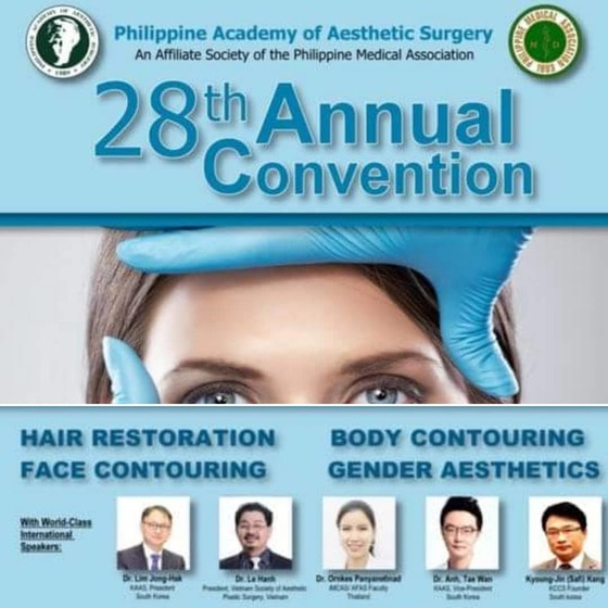 28th annual convention philippine academy of aesthetic surgery 181 l