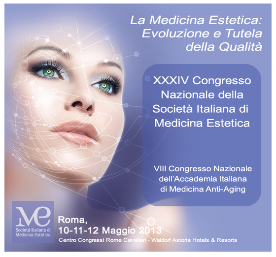 National congress of the company italian aesthetic medicine l