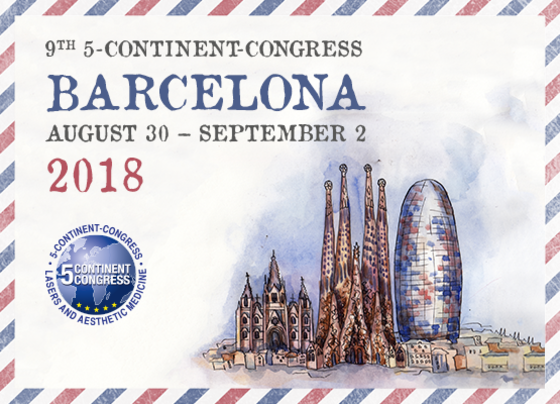 The 5 continent congress 5cc barcelona spain 191 l