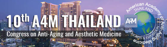 10th a4m thailand congress on anti aging and aesthetic medicine 2018 bangkok thailand 199 l
