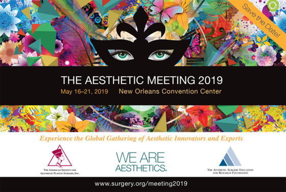 The aesthetic meeting 2019 new orleans louisiana 213 l
