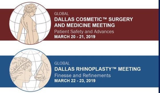 Dallas cosmetic surgery and rhinoplasty meeting 2019 l