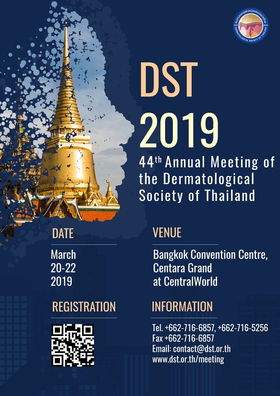 44th annual meeting of the dermatological society of thailand 2019 bangkok thailand 234 l