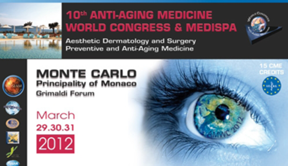 Amwc 2012 10th anti aging medicine world congress 60 l