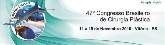 47 congresso brasileiro de cirurgia plastica novembro 2010 l
