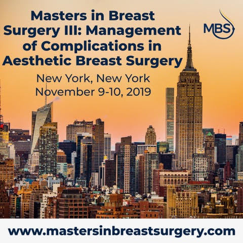 Masters in Breast Surgery III: Management of Complications in Aesthetic Breast Surgery